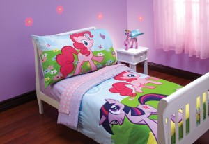 my little pony toddler bedding