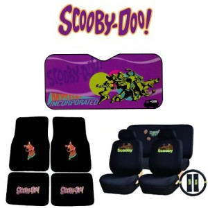 scooby doo auto accessories