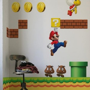 Super Mario Wall Decal Cool Stuff To Buy And Collect