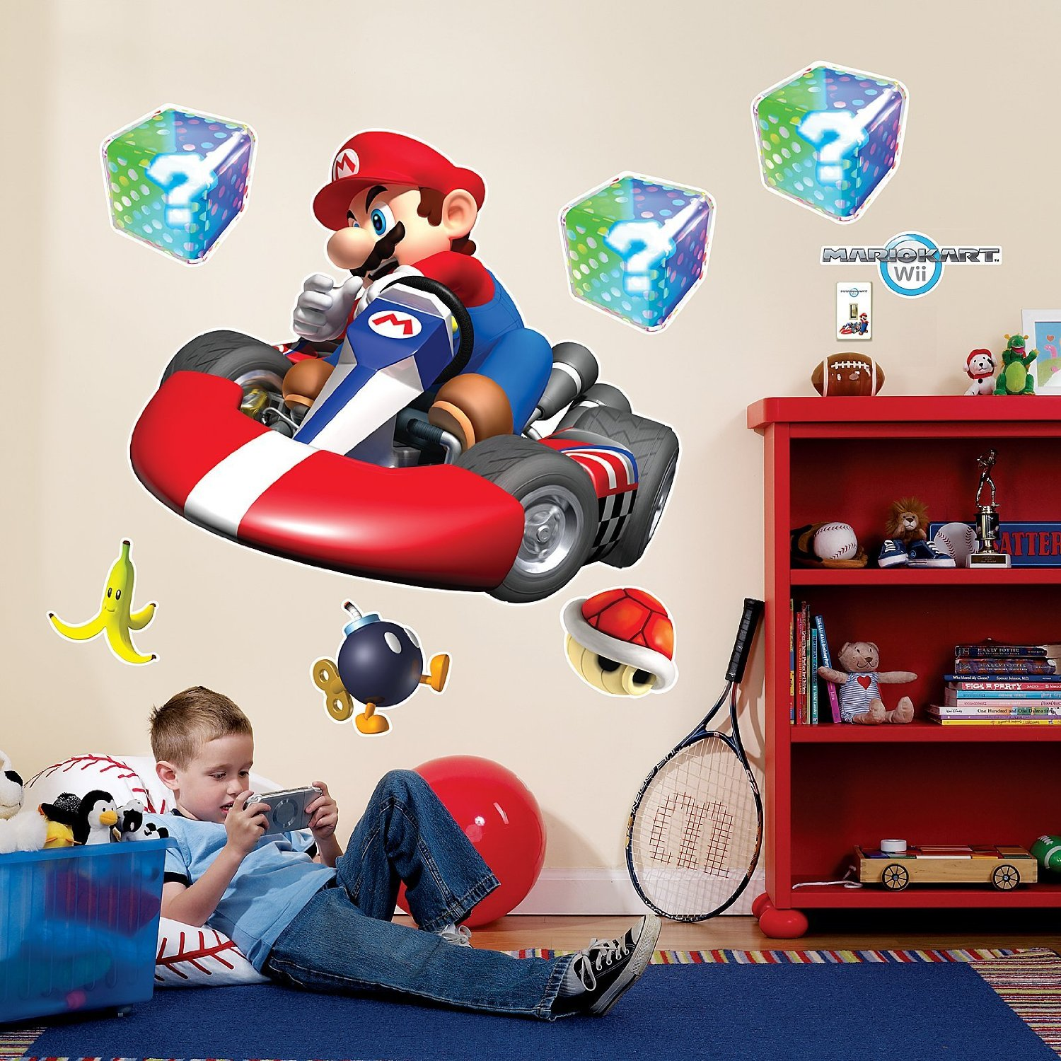 Super Mario Bros Wall Decal Super Mario Wall Decal