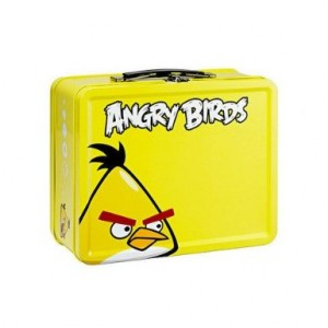 Angry Birds Metal Lunch Box Cool Stuff To Buy And Collect