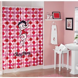Betty The Boop Shower Curtain Cool Stuff To Buy And Collect