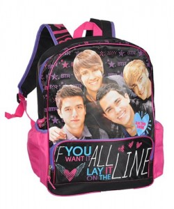 904b25edceac Big Time Rush Backpack and Lunch Bag - Cool Stuff to Buy and Collect