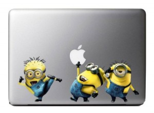 desicable me minion laptop decal