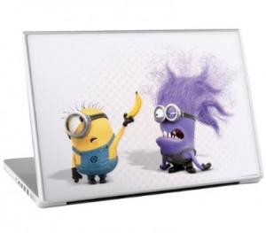 despicable me laptop decal