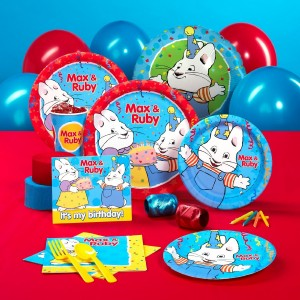 max ruby birthday party supplies and favors