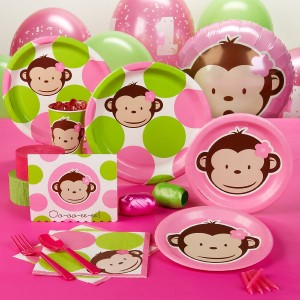 Mod Monkey Party Supplies And Favors Cool Stuff To Buy And Collect