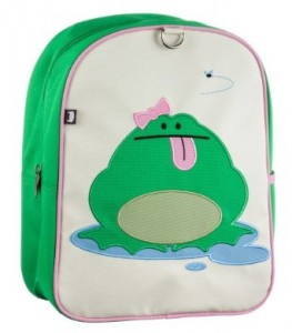 beatrix frog backpack