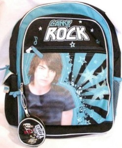 Disney Camp Rock Backpack Cool Stuff To Buy And Collect
