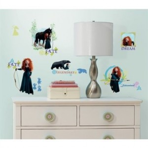 Disney Brave Merida Wall Decal Cool Stuff To Buy And Collect