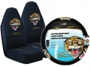 Ed Hardy Car Seat Cover Tiger Accessories