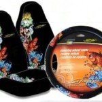 Ed Hardy Koi Car Accessories