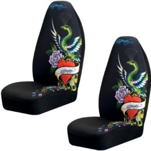 ed hardy peacock car accessories