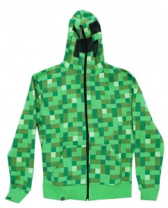 Minecraft Creeper Hoodie Cool Stuff To Buy And Collect