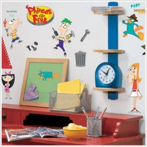 Disney Phineas And Ferb Wall Decal Cool Stuff To Buy And