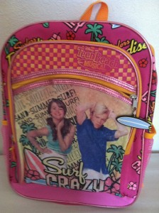 Disney Teen Beach Movie Backpack And Lunch Bag Cool