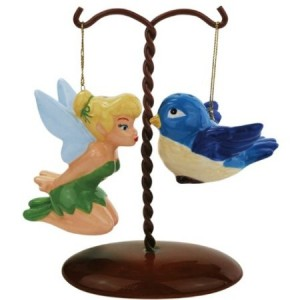tinker bell bird salt pepper shaker