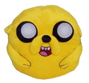 adventure time cuddle pillow jake