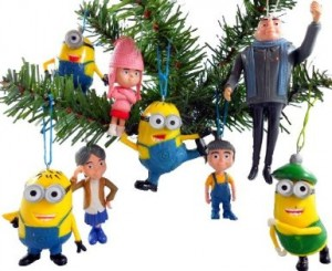 despicable me christmas ornament