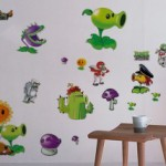 Plants VS Zombie Wall Decal