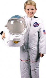 These Kids Astronaut Costumes are so realistic that your child will feel like a real astronaut! Perfect for dress up, your child will experience out of this world fun in a child astronaut costume. Your child won't want to take the kids astronaut costume off!