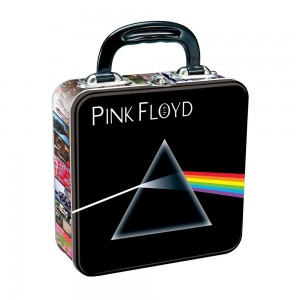 pink floyd lunch box black