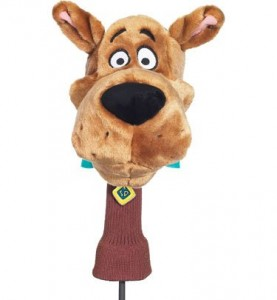 scooby doo gold head cover