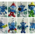 Smurfs Christmas Ornaments