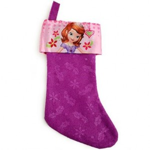 sofia christmas stocking pink