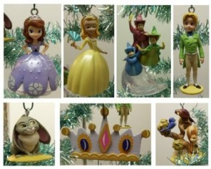 sofia the first ornament set