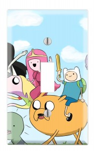 adventure time switch light cover