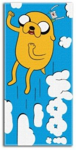 adventure time towel