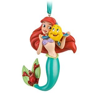 Princess ariel little mermaid christmas ornament cool for Ariel christmas decoration
