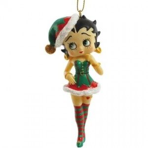 betty boop christmas ornament