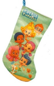 bubble guppies christmas stocking