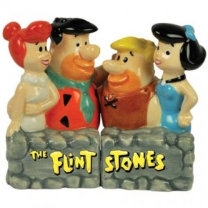 flintstones salt pepper shaker 1