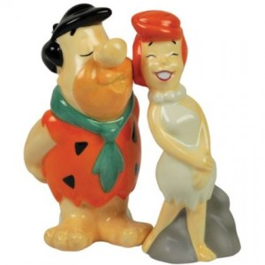 flintstones salt pepper shakerwilma