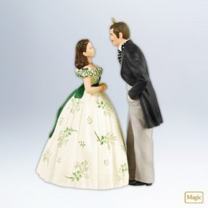 gone with the wind ornament 2012