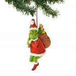 The Grinch Christmas Ornament and Stocking