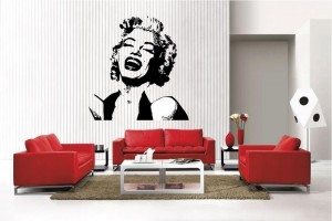 Marilyn monroe wall decal cool stuff to buy and collect