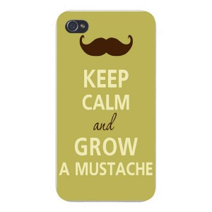 mustache iphone keep calm
