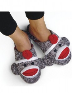 Sock Monkey Slippers Cool Stuff To Buy And Collect
