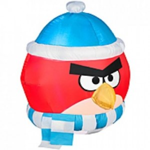 angry birds inflatable christmas