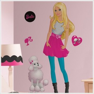 Barbie Wall Decal