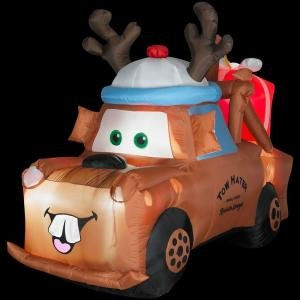 Disney Cars Christmas Inflatable Cool Stuff To Buy And