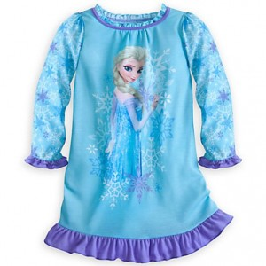 disney frozen pajamas nightshirt