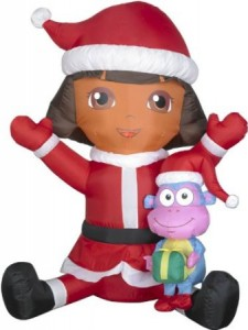 dora boot christmas inflatable