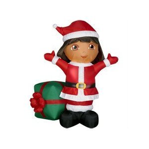 Dora the Explorer Christmas Inflatable Cool Stuff to Buy and Collect