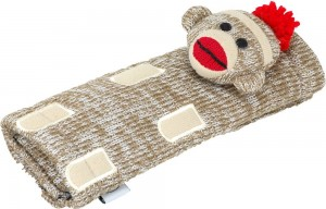 sock monkey seat belt