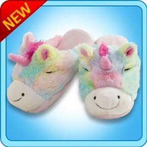 unicorn slippers my pillow pet